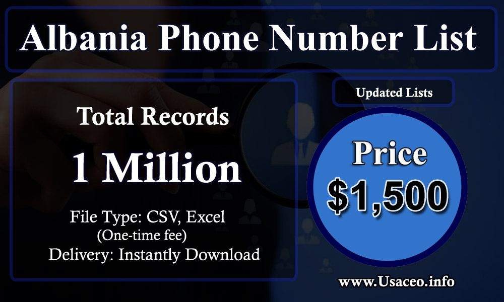 Albania Phone Number List
