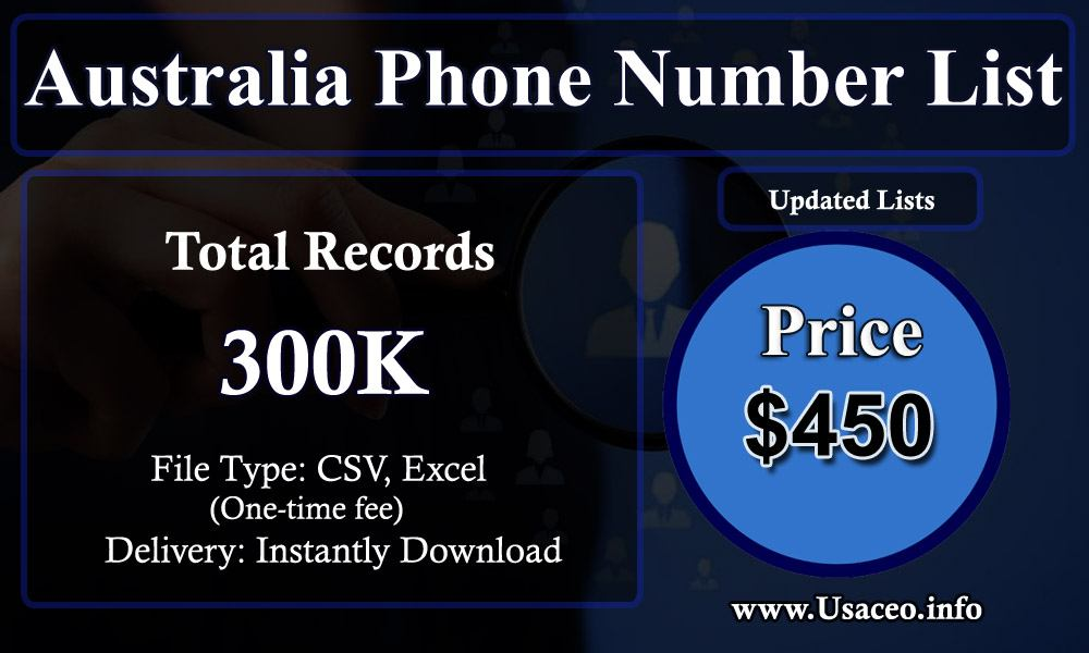 Australia Phone Number List