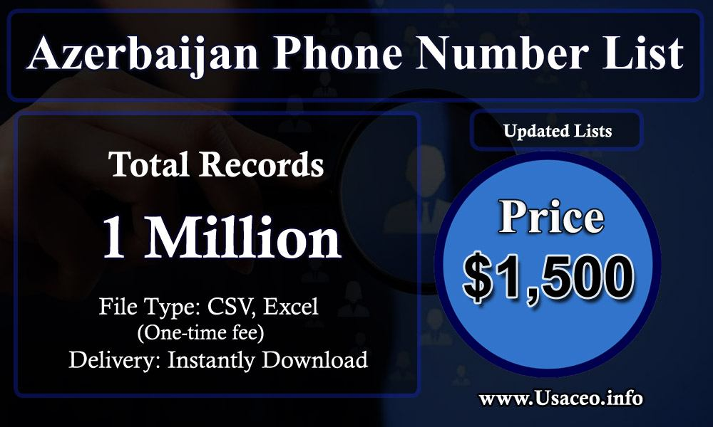 Azerbaijan Phone Number List