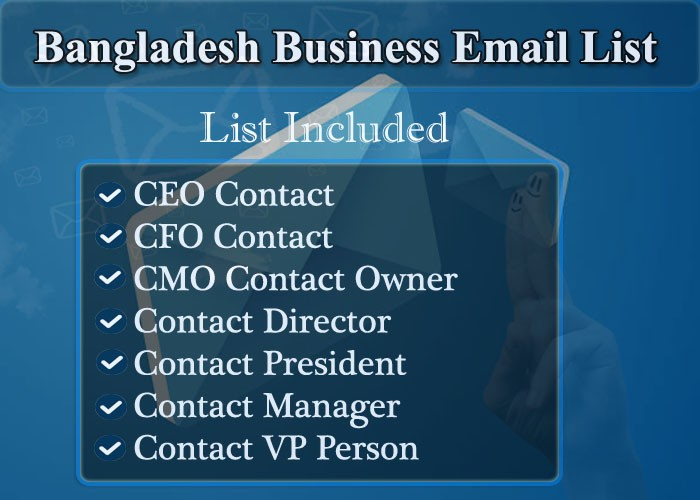 Bangladesh Business Email List