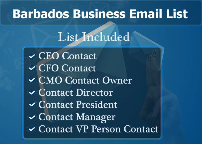 Barbados Business Email List