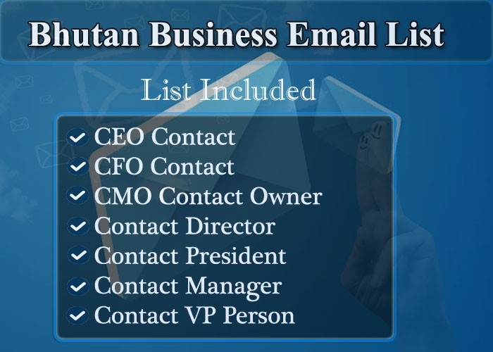 Bhutan Business Email List