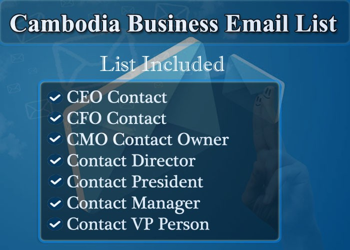 Cambodia Business Email List