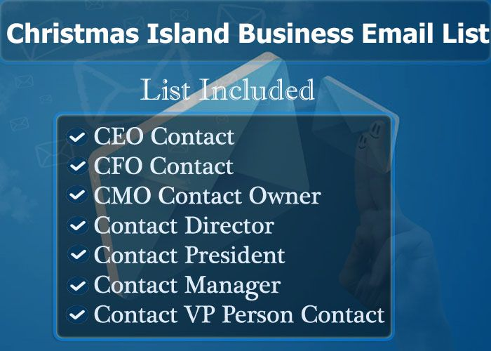 Christmas Island Business Email List