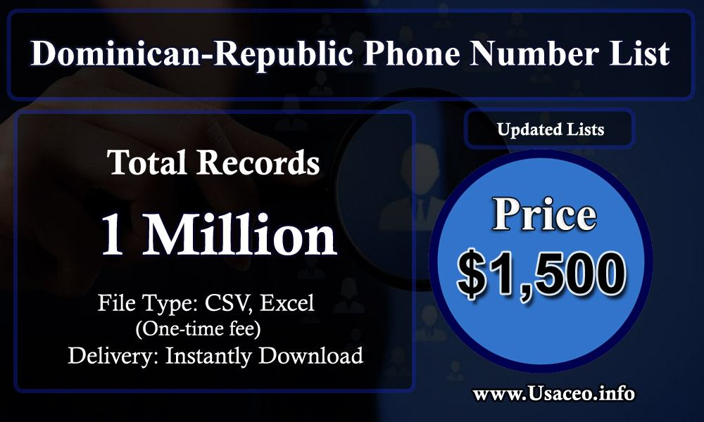 Dominican-Republic Phone Number List
