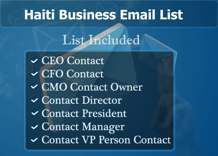 Haiti Business Email List