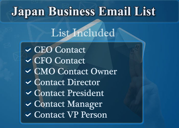 Japan Business Email List
