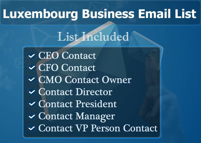 Luxembourg Business Email List