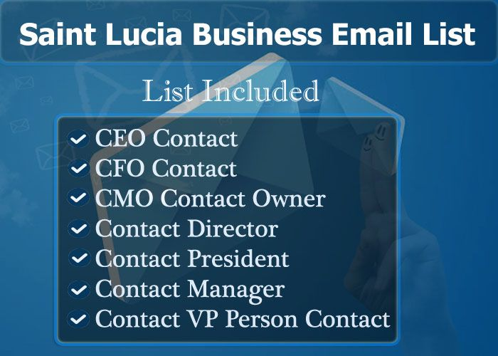 Saint Lucia Business Email List