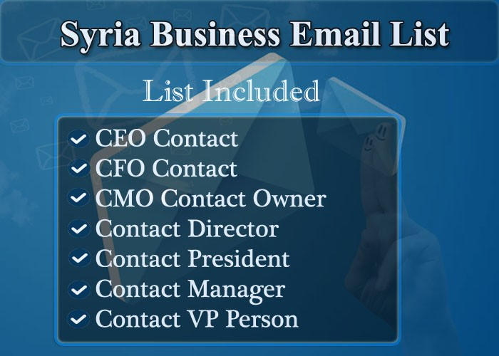 Syria Business Email List