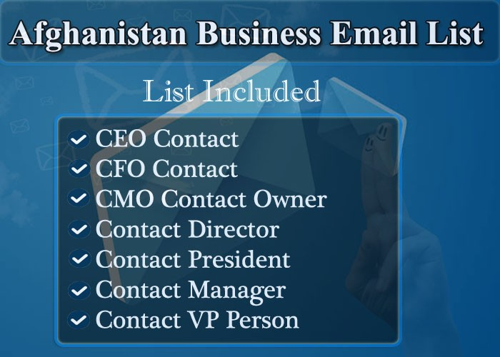 Afghanistan Business Email List