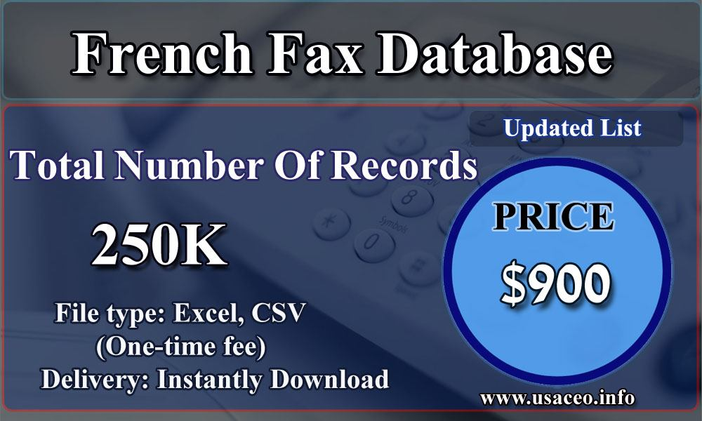 French Fax Database