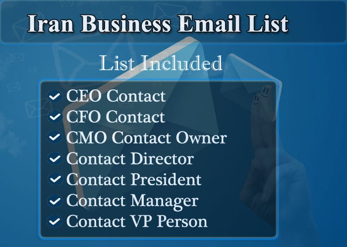 Iran Business Email List