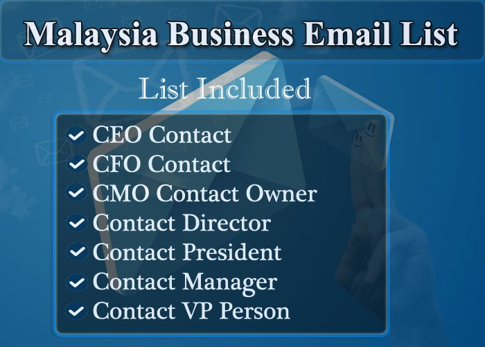 Malaysia Business Email List