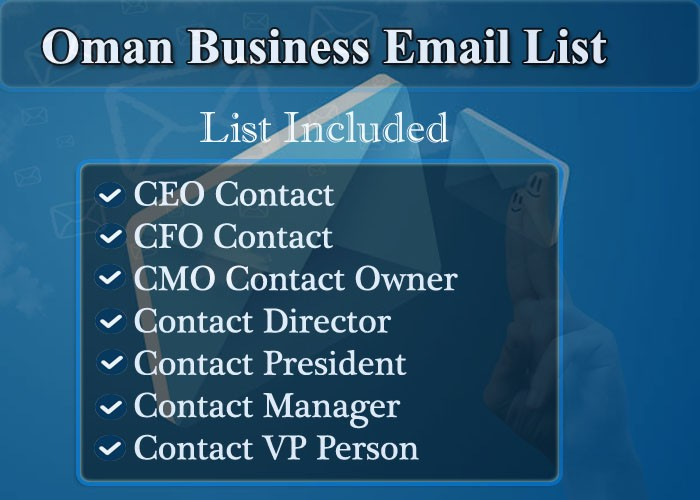 Oman Business Email List
