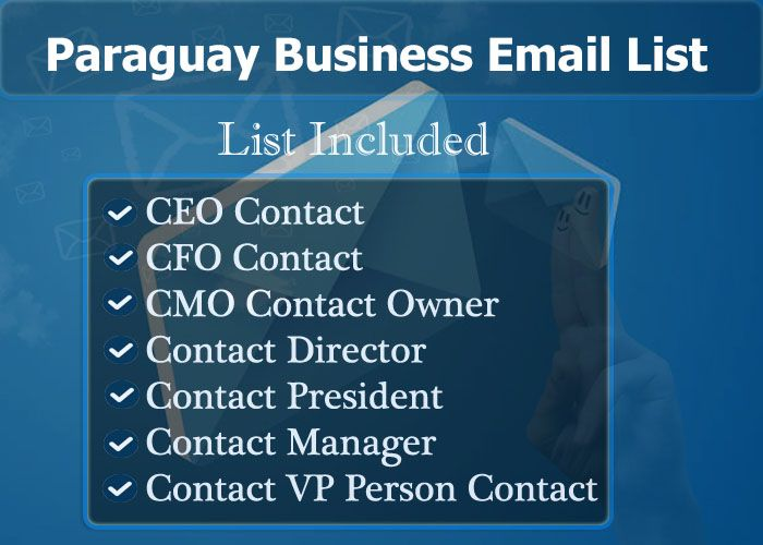 Paraguay Business Email List