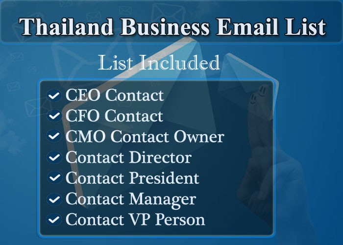 Thailand Business Email List