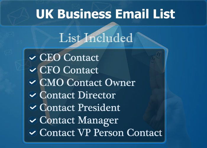 UK Business Email List