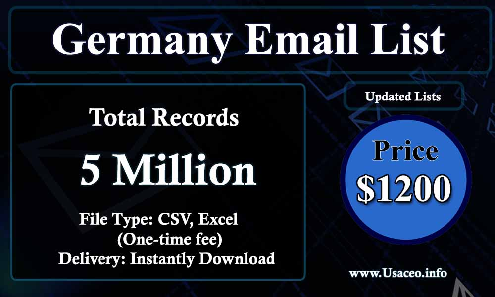 Germany Email List